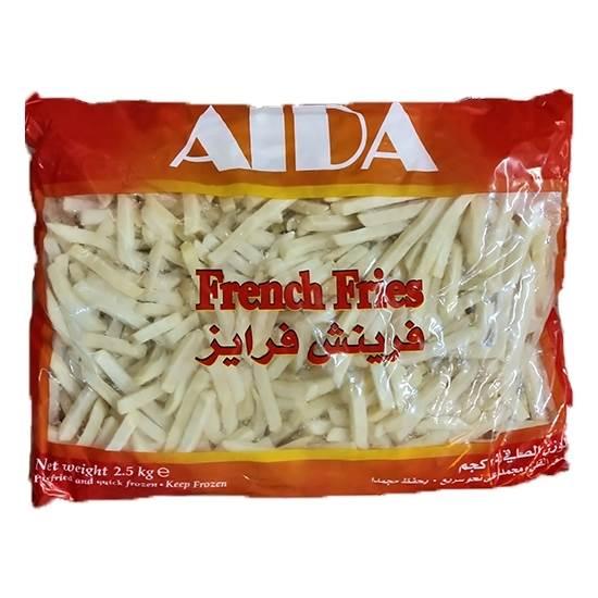 صورة Aida French Fries Straight Cut 9x9mm  4x 2.5Kg