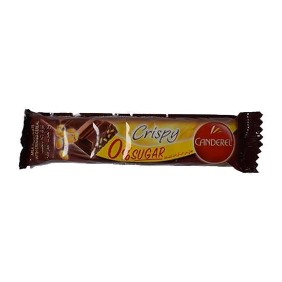 Picture of Canderel Milk Chocolate Rice Crispy 27gm