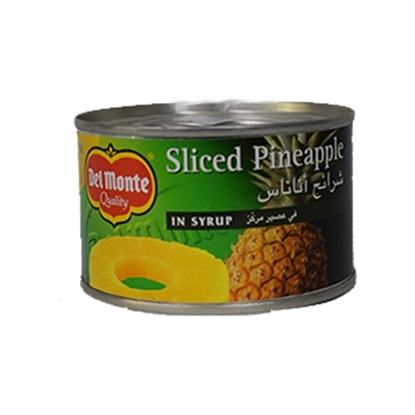 Picture of Del Monte Pineapple Sliced in Syrup 234gm