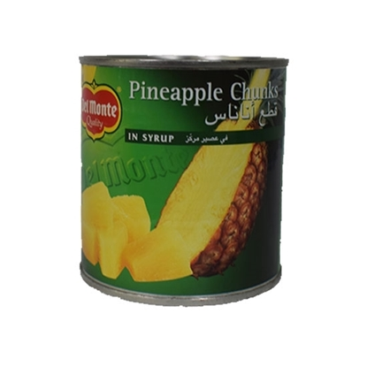 Picture of Del Monte Pineapple Chunks in Syrup 234gm