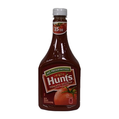 Picture of Hunt's Ketchup Plastic squeeze 35 OZ 992 G