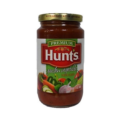 Picture of Hunt's Sauce Pasta garden Vegetbale Jar 397g