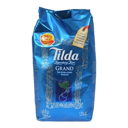 Picture of Tilda Long Grain Basmati Rice 2kg