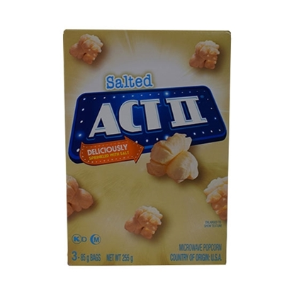 Picture of ACT II Popcorn Salted  255 GM