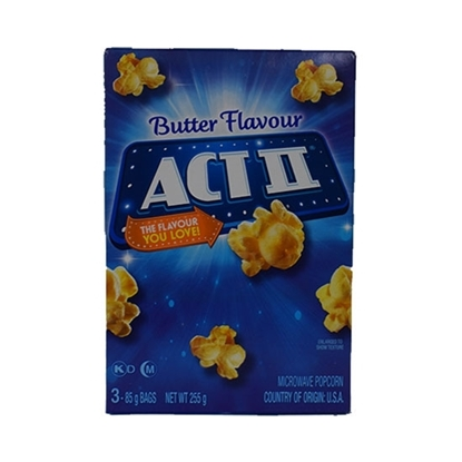Picture of ACT II Popcorn Butter 255 GM