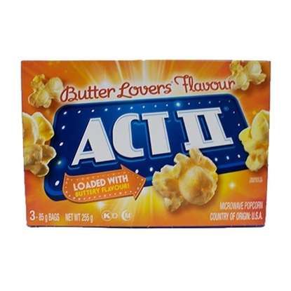 Picture of ACT II Popcorn Butter Lover 255 GM