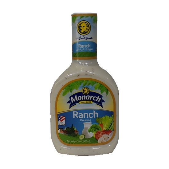 Picture of Monarch Ranch Dressing 473ml