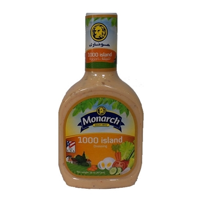Picture of Monarch 1000 Island Dressing 473ml