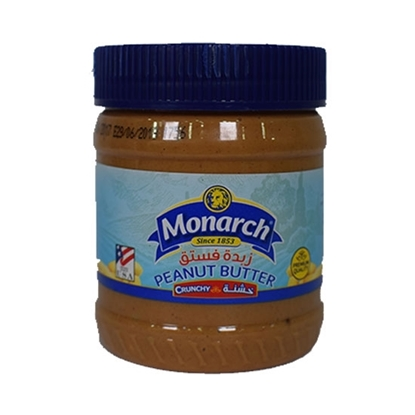Picture of Monarch Crunchy Peanut Butter 510 gm