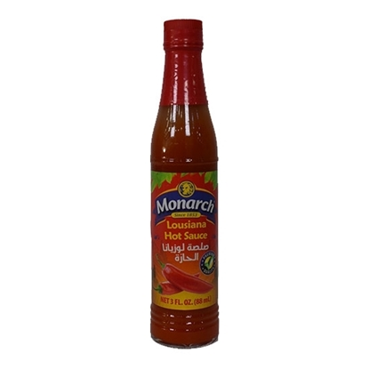 Picture of Monarch Louisiana Red Hot Sauce 88ml