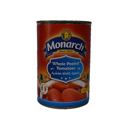 Picture of Monarch Whole Peeled Tomatoes  400 gm
