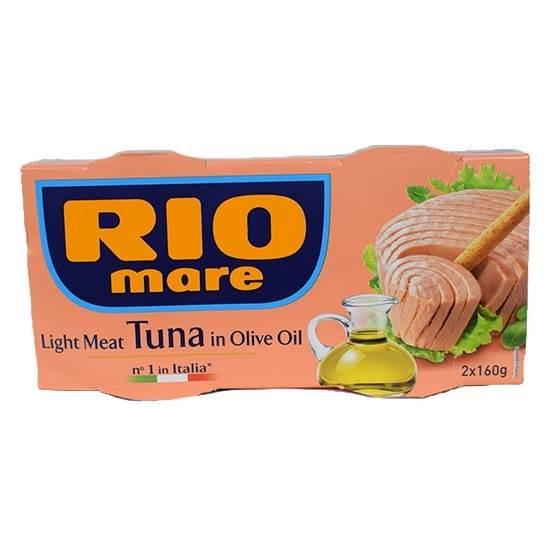 صورة ريو ماري  لحم تونا خفيف بزيت الزيتون (2 حبة*160جم)