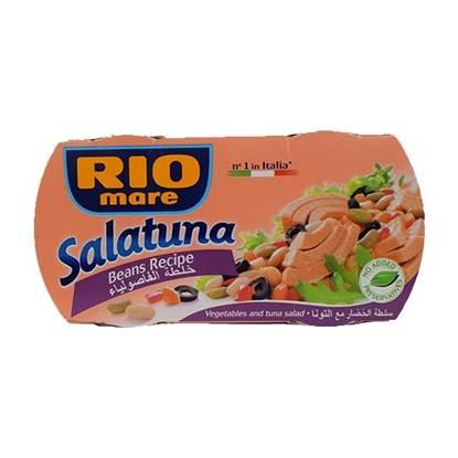 الصورة: ريو ماري خلطة التونا مع زيتون اسود وفاصوليا بيضاء 160 جم (2 حبة )