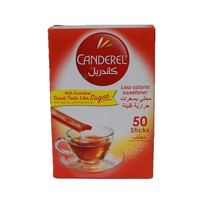 Picture of Canderel Sweetner Powder Sachets 0.5gm (50stick)