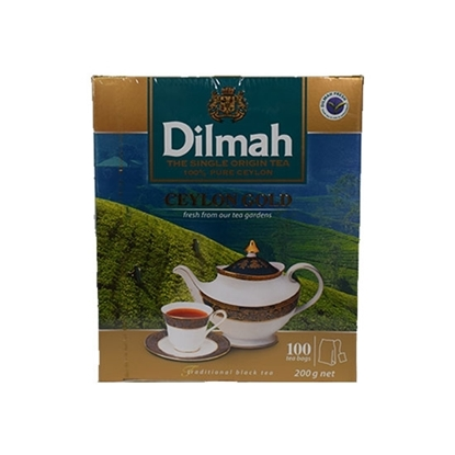 Picture of Dilmah Ceylon Gold Tea Bag (100bag) 2gm