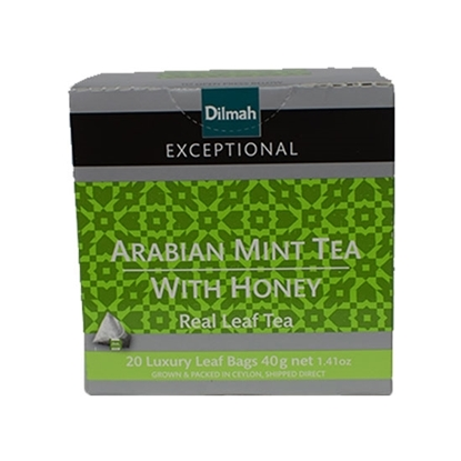 Picture of Dilmah Exceptional Leaf Tea Bag Arabian Minth With Honey 2gm