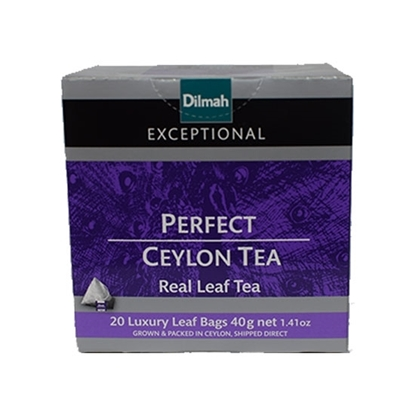 Picture of Dilmah Exceptional Leaf Tea Bag Perfect Ceylon 2gm