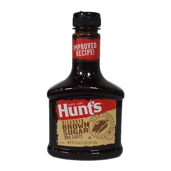 Picture of Hunt's BBQ Sauce Hickory Brown Sugar 21.6 OZ 612G