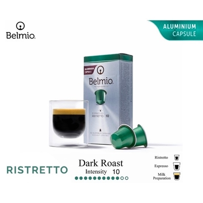 Picture of espresso ristretto coffee capsules