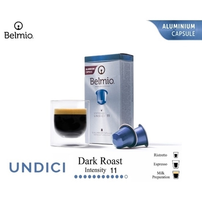 Picture of espresso undici coffee capsules