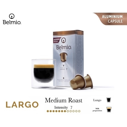 Picture of lungo largo coffee capsules