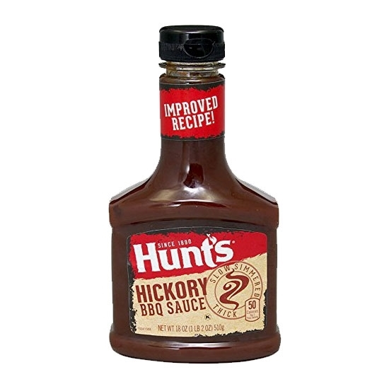 Picture of Hunt's BBQ Sauce Bold 21.6 OZ  612 G