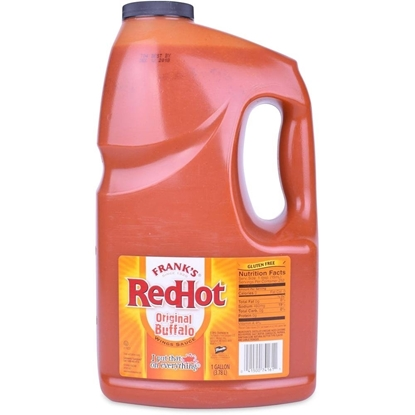 Picture of Franks Sauce Red Hot  Original Buffalo( 4 Gallon * 3.785 Liter )