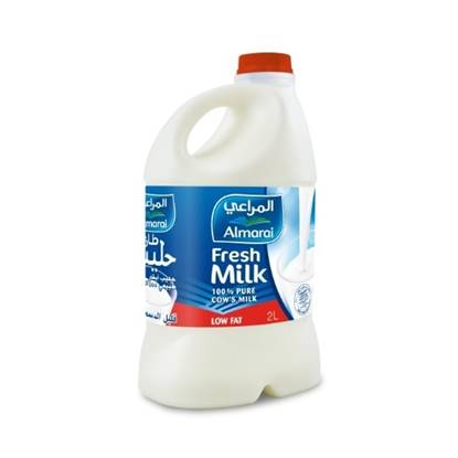 Picture of ALMARAI FRESH MILK LOW FAT 2L PET (1X10)