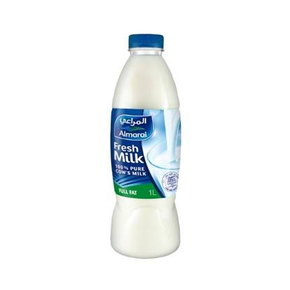 Picture of ALMARAI FRESH MILK FULL FAT 1L PET (1X20)
