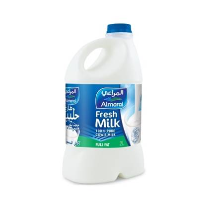 Picture of ALMARAI FRESH MILK FULL FAT 2L PET (1X10)