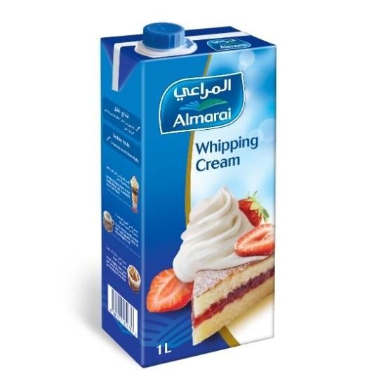 Picture of ALMARAI WHIPPING CREAM 1L (1X12) (CB3) SCREWCAP