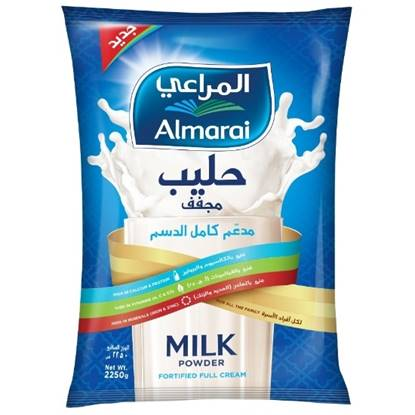 Picture of ALMARAI POWDERED MILK FULL CREAM 2.25KG POUCH