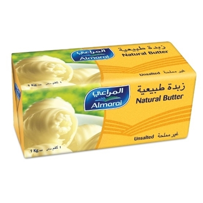 Picture of BUTTER UNSALTED NATURAL 1KG (1X9)