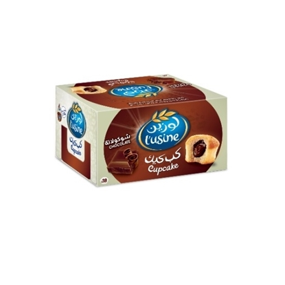 Picture of Cupcake Chocolate Duplex Box- (18 pieces of 1×1)  540  Gm