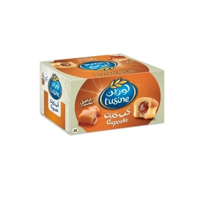 Picture of Cupcake Caramel Duplex Box - (18 pieces of 1×1)  540  Gm