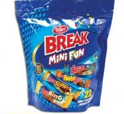 Picture of Wafer Based_Tiffany_Break_10x_384g_Pouch_Mini Fun