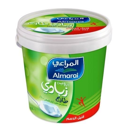 Thawaaq Kuwait Food Marketplace زبادي قليل الدسم 1 كيلو