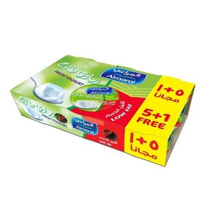 Picture of ALMARAI ZABADI LOW FAT 170G B5G1F (1X6X10)
