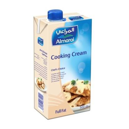 Picture of ALMARAI COOKING CREAM 500ML (CB6) SCREWCAP