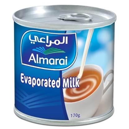 Picture of ALMARAI EVAPORATED MILK TIN 170G