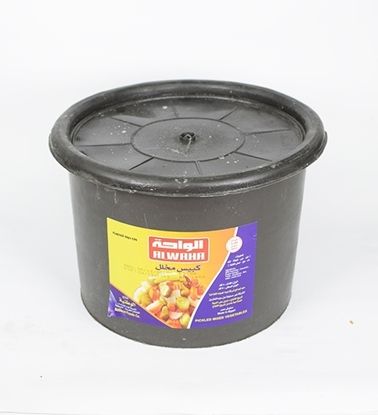 Picture of  Al Waha Mix Pickels ( 5 KG * 1 Pail )