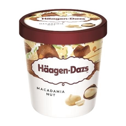 Picture of HD ICECREAM MACADAMIA BR.NUT 9.45 LTR