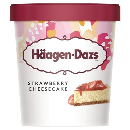 Picture of HD ICECREAM STRAWBERRY CH.CAKE 9.45LT