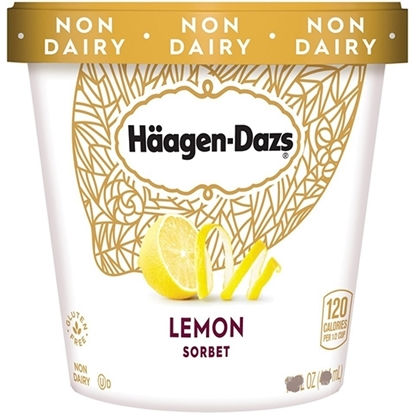 Picture of HD ICECREAM LEMON SORBET 9.45 LTR