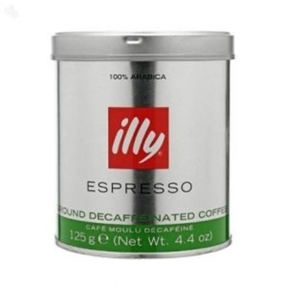 Picture of Illy Espresso Decafinated Ground Coffee 125gm