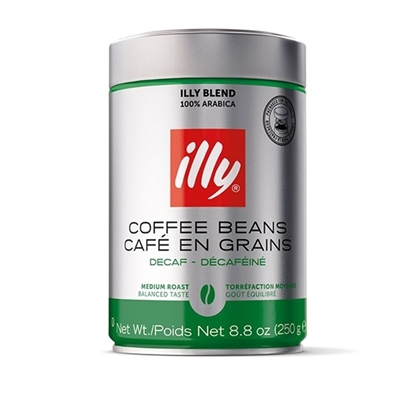 Picture of illy Beans 250 g  Decaffeinated