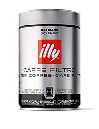 Picture of illy Filter 250 g  Dark Roast