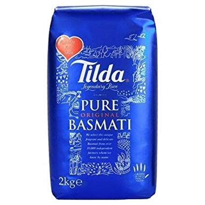 Picture of Tilda Blue Basmati Rice 2kg