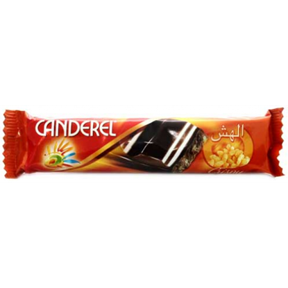 Picture of Canderel Milk Chocolate Crispy Almond 27gm