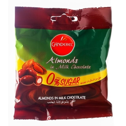 Picture of Canderel Almonds Covered with Chocolate 55gm
